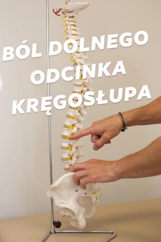 Dolegliwości bólowe dolnego odcinka kręgosłupa
